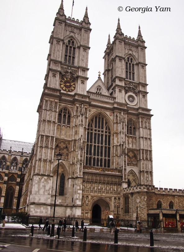 Westminster Abbey, London UK