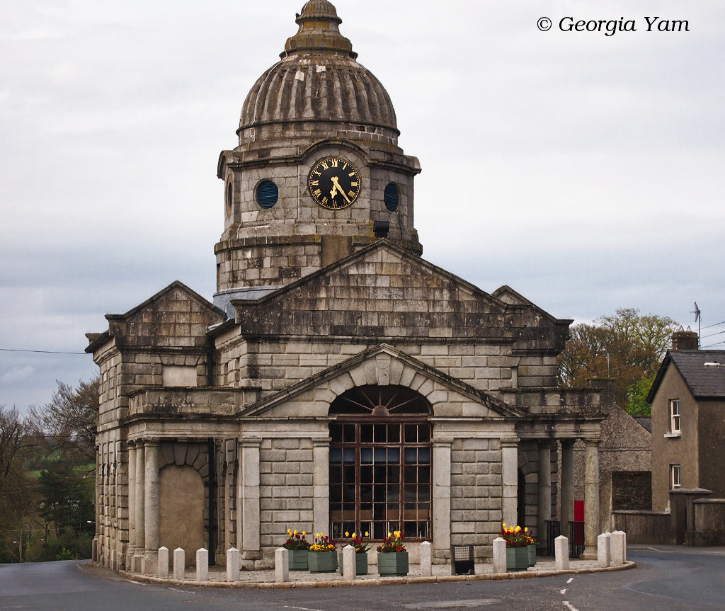 Old Courthouse, now Library, Dunlavin, Ireland