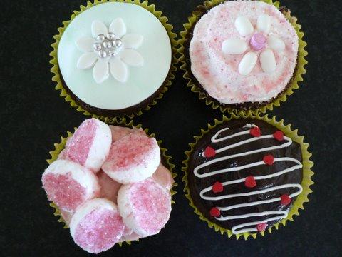some of my Mum's cupcakes