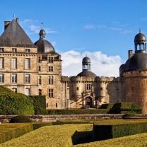 Le Château de Hautefort, Hautefort, France