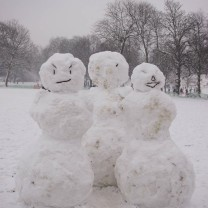 Snowperson family