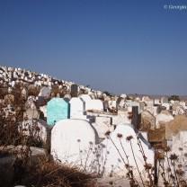 Gravestones, Fes, Morocco