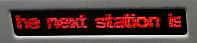 what is the next station?