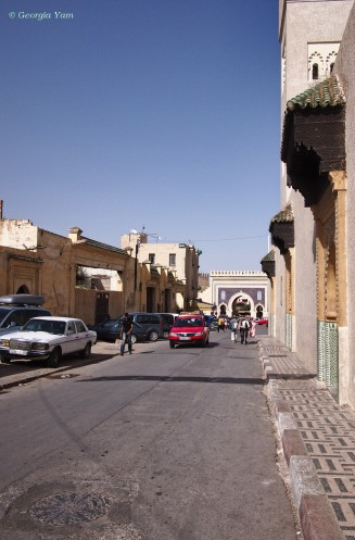 Road to Bab Bou Jeloud, Fes, Morocco