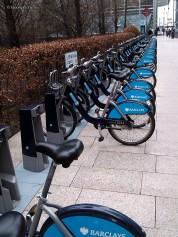 Barclay's bike hire station