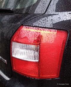 brake lights on a car