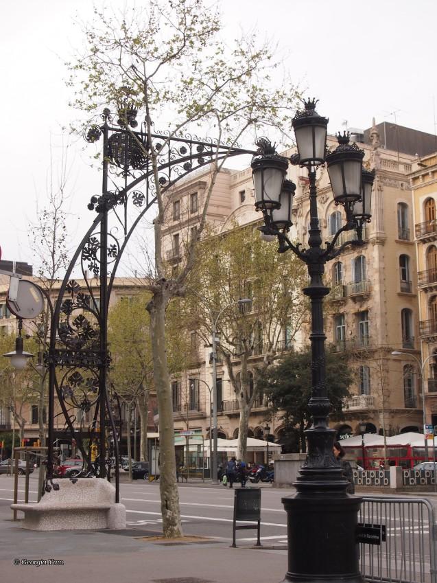 Rambla lamp post