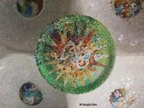 green sun mosaic