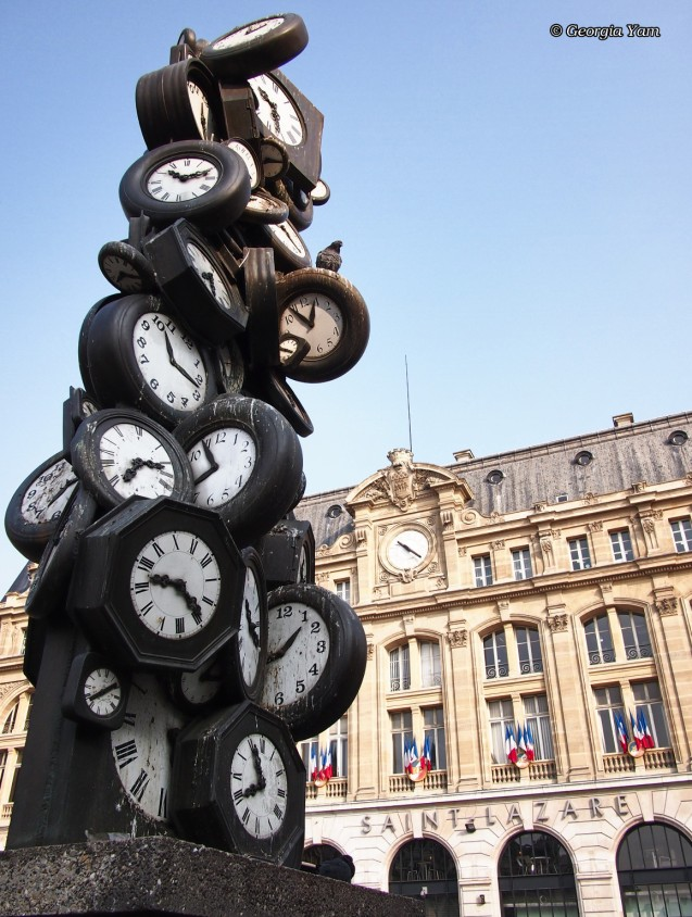 Tower of clocks, Paris