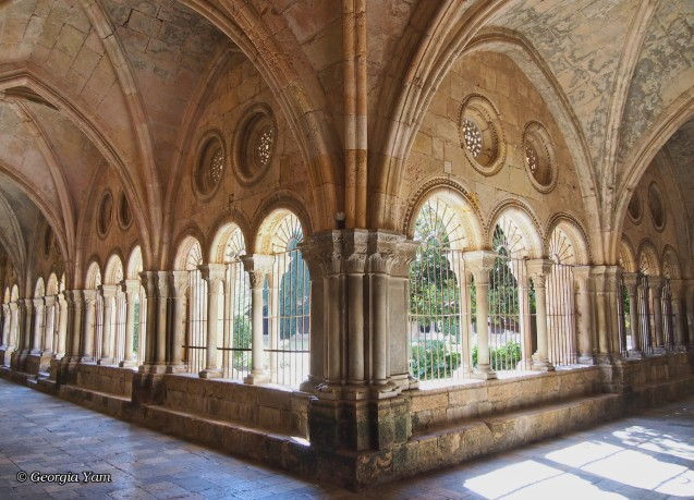 Romanesque cloisters