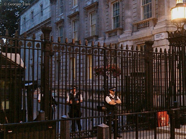 Downing Street entrance