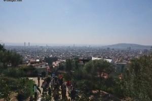 Park Güell view over Barcelona