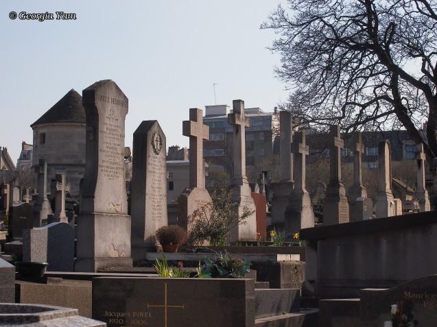 Paris headstones