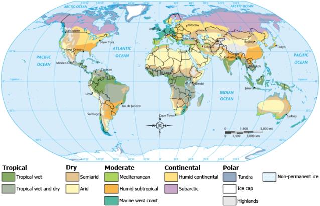 ClimateMapWorld
