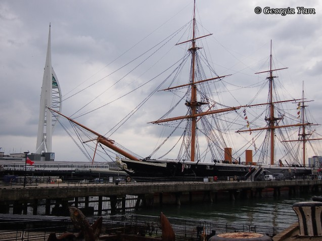 Portsmouth boat & tower