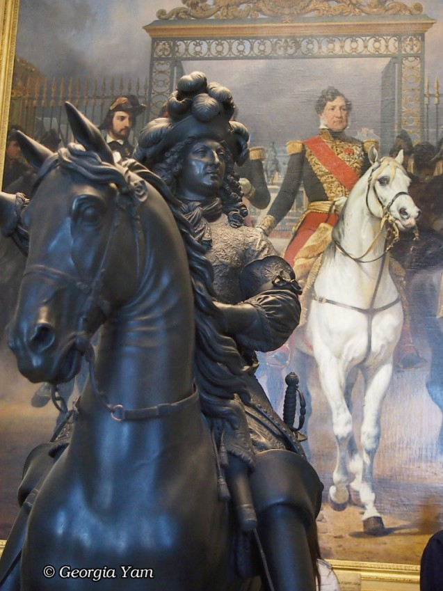 Versailles man on a horse