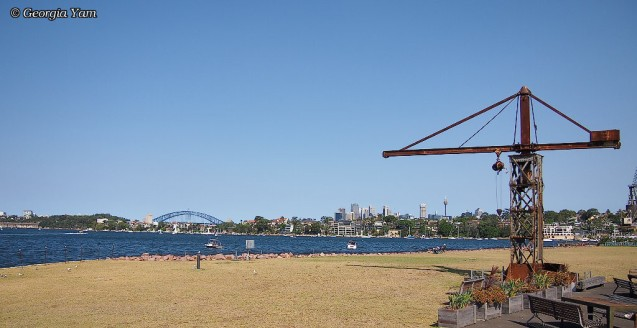 metal crane & bridge