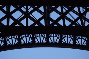 squares angles detail Eiffel Tower Paris