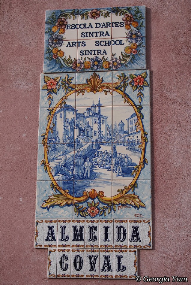 Sintra street sign