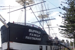 Buffalo floating restaurant