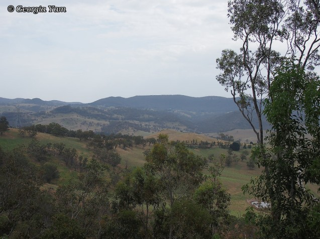 Jenolan valley view