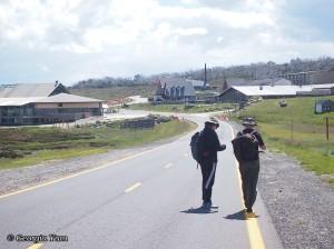 walking the highway