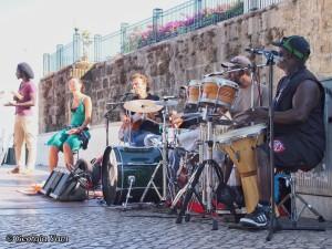 band playing