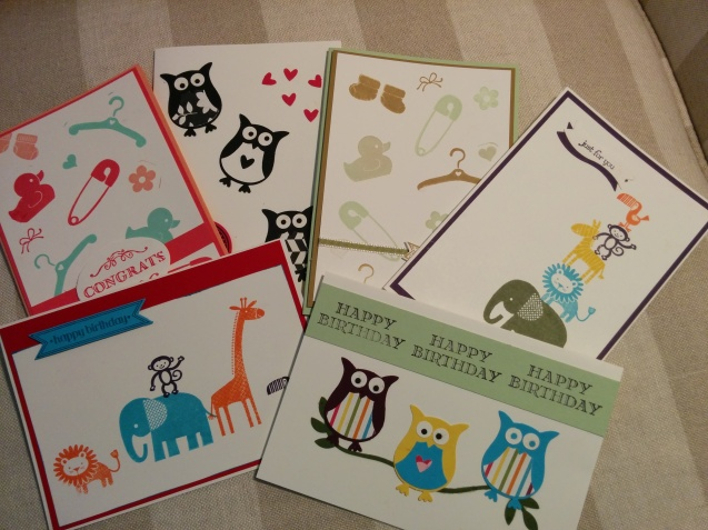 colourful kids cards