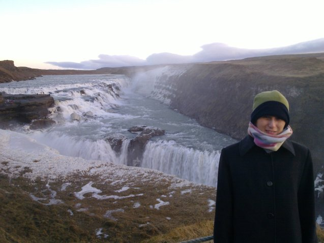 me in Iceland