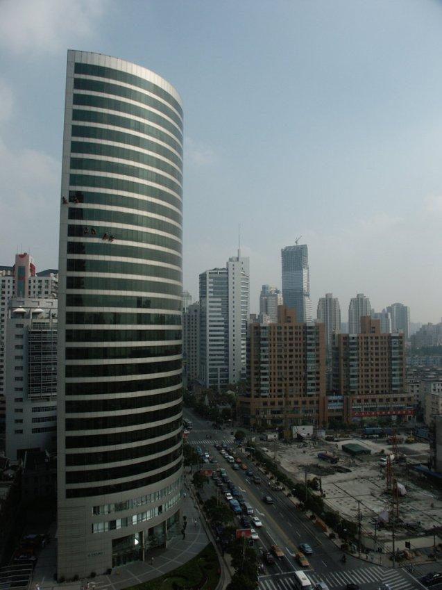 Window washers Shanghai