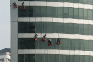 window washers Shanghai