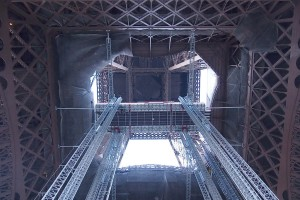 under Eiffel Tower