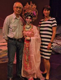 at the Cantonese Opera